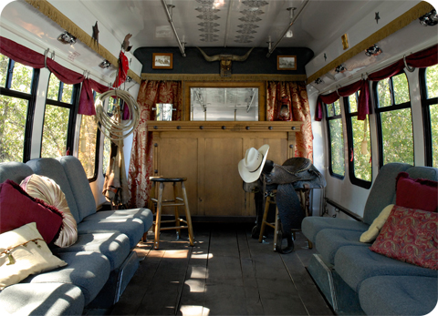 Saloon Bus