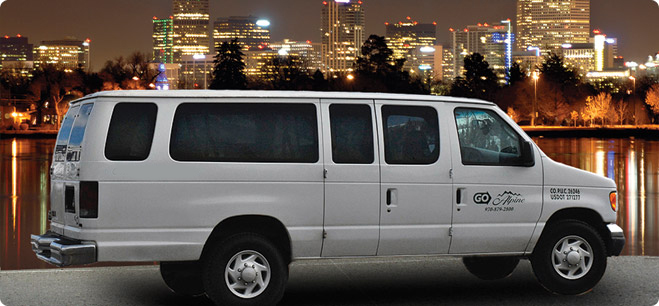 GO Alpine - Airport Shuttle, Charter, Limo and Taxi service